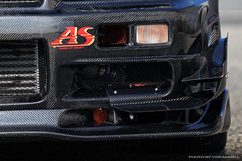 Carbon canard - R34 / R33 GT-R