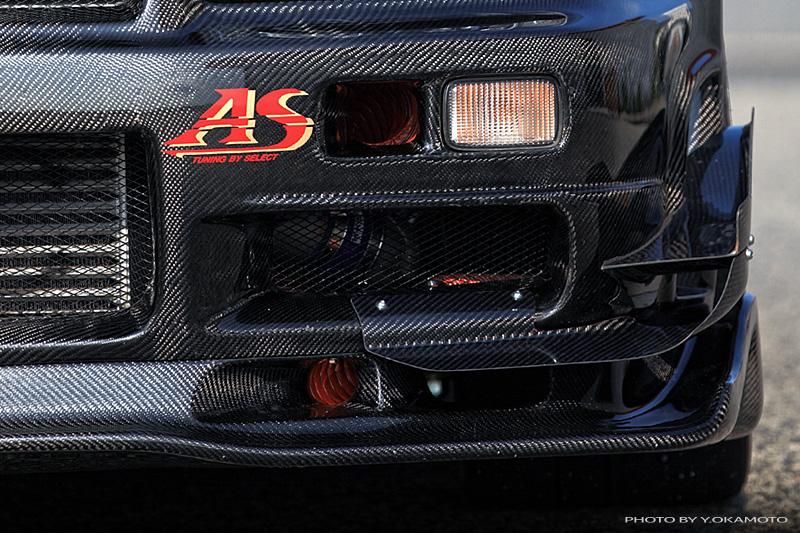 Carbon Devil spoiler R34 GT-R